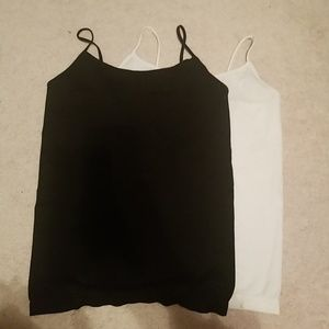 TWO Wet seal tank tops size M/L